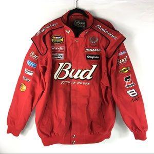 Budweiser Racing Jacket NASCAR Size XL